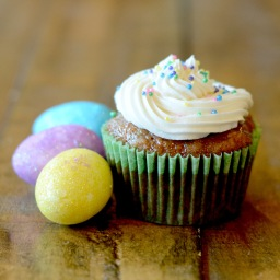 For Easter (or Any Spring Occasion): Carrot Cake Cupcakes