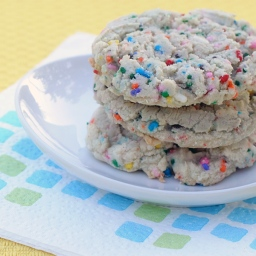 Soft & Chewy Funfetti Cookies