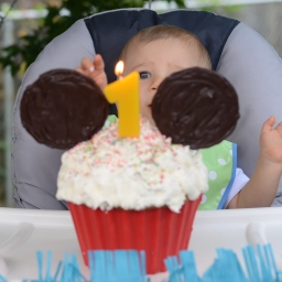 Decorating Ideas (and Recipes) for Mickey and Minnie Cupcakes and Cake