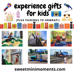 Experience Gifts for Kids (plus pairings to unwrap!)