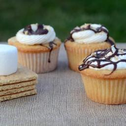 S'mores Cupcakes for a Unique Summer Treat