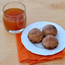 Baked Apple Cider Donut Muffins