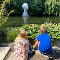 Enjoy Nature & Art at Grounds for Sculpture (plus a FREE printable Scavenger Hunt!)